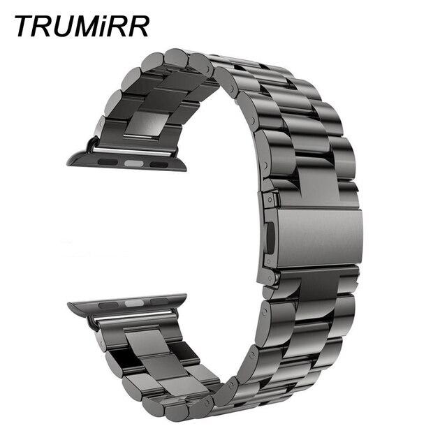 e9d0749c Ремешок из нержавеющей стали для мм iWatch Apple Watch 38 мм 40 мм 42 мм 44