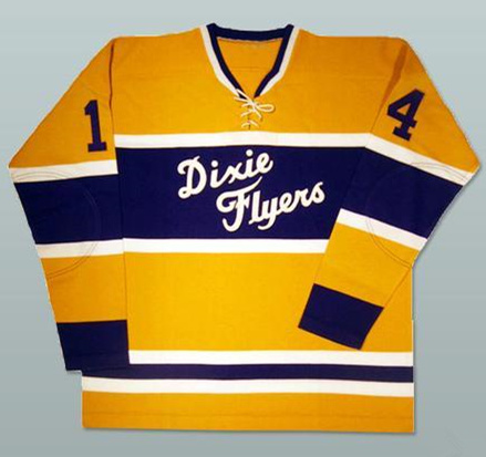 Nashville Dixie Flyers Hockey Jersey Mens Embroidery Stitched