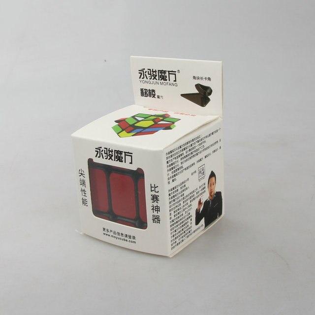 YJ MoYu Fisher Cube étrange-forme vitesse Puzzle Cube Twist Cubes Cubo Magico jouets éducatifs enfants cadeau livraison gratuite