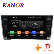 KANOR Android 8.0 4+32g 2din car gps navigation for Toyota camry 2007 2008 2009 2010 2011 2din Car radio car stereo radio