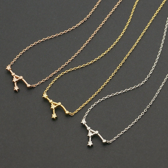 10pcslot 2015 New Arrival Cancer Zodiac Sign Necklace Astrology