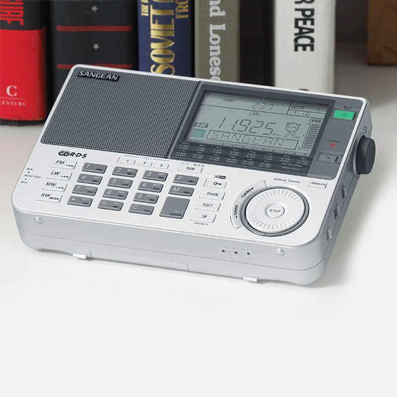 Sangean ATS-909X banda receptor de rádio fm/mw/sw/lw multiband fm rádio banda alto-falante