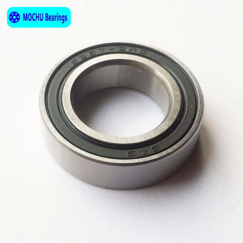free shipping 1pcs Bearing 15267 15267RS 15267-2RS 6902-26 15x26x7 Bicycle bearing MOCHU Shielded Deep Groove Ball Bearings 15267 2rs 15 26 7mm 15267rs si3n4 hybrid ceramic wheel hub bearing