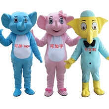 Elephant Mascot Costume Cosplay Mascotte Adult Size Fancy Carnival Festival Dress Christmas Cosplay for Halloween party event все цены
