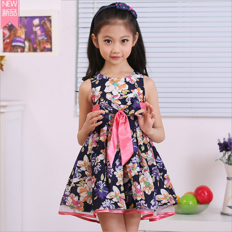 Cute 12 Year Old Girls girl's chiffon lace dress,bow prince dress children's dress, fo r4