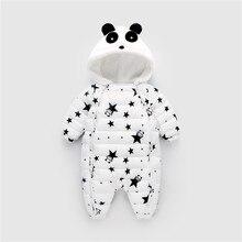 BibiCola/Теплые Комбинезоны для младенцев; зимний модный утепленный комбинезон; детские комбинезоны с героями мультфильмов; одежда для прогулок для малышей