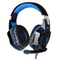G2000 Gaming Headphone Casque Best PC Computer Gamer Headset Stereo HIFI Deep Bass Headphones With Mic