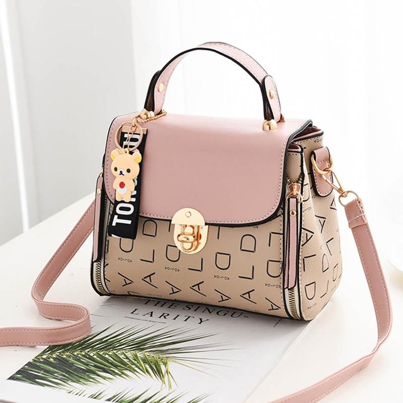 Popular Woman Handbags Fashion Leather Messenger Bag Trendy new one-shoulder diagonal small square bag Bolsa Feminina louis gg 41