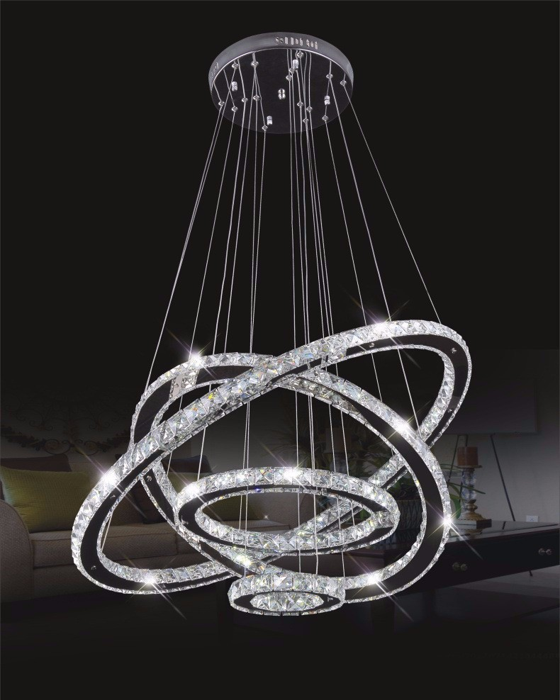 modern rope light lustres led crystal pendant lamps light luxury led k9 crystal pendant lights. Black Bedroom Furniture Sets. Home Design Ideas