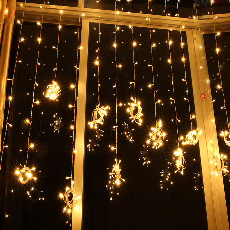 10M 100Leds Fairy String Light LED Christmas Party Decoration Curtain Lamp waterproof For New Year Home Festival Holiday Indoor