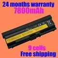 Jigu alta calidad de 9 celdas de batería del ordenador portátil para lenovo thinkpad e40 e50 t410 t420 t510 t410i sl410 sl510 negro