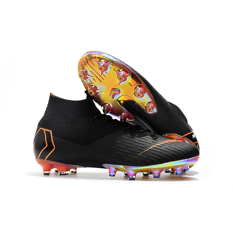 35befa44e sufei Soccer Shoes Superfly XII Professional AG Football Boots VI Original  Artificial Grass Cheap Soccer Cleats Wholesale-in Soccer Shoes from Sports  ...