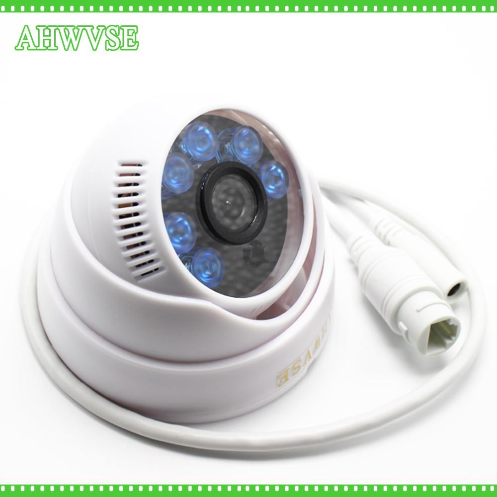 AHWVSE 2MP HD IP CAM 1080P 960P 720P Night Vision 2.0MP Onvif Cctv Mini Dome Video Surveillance Camera