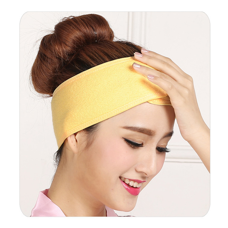 1 pcs Wash Face Makeup SPA Women Sweat Elastic Soft Headbands Fashion Bath Sweat Makeup wicking beauty salon special tools tatt 1