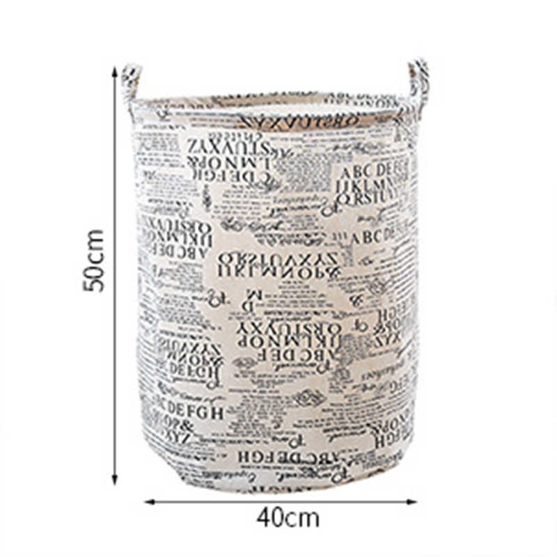 JiangChaoBo Home Dos Desenhos Animados Tecido Roupa Suja Balde De Armazenamento Grande Cesta de Lavanderia de Dobramento Do Banheiro À Prova D' Água Pano de Oxford