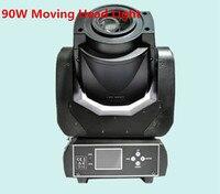 Лидер продаж! 90 Вт гобо Moving head light 3 Уход за кожей лица Prism DMX контроллер 6/16 канала для сцены Театр Disco для ночного клуба и вечеринок /sx mh90