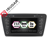 Android 7 1 1 Two 2 Din 8 Inch Car DVD Player For Skoda Octavia 2013