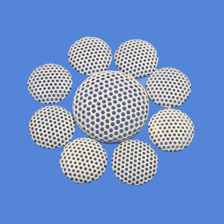2pcs 17/28/32/34/38/40/42/50mm Car Tweeter Speaker Cover Decorative Circle Metal Mesh Grille #White