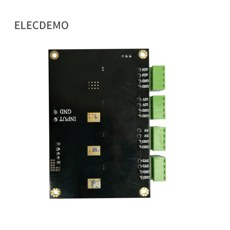 Image 3 - LM2596 module  multi channel switching power supply 3.3V/5V/12V/ADJ adjustable output DC DC step down power supply module-in Demo Board Accessories from Computer & Office