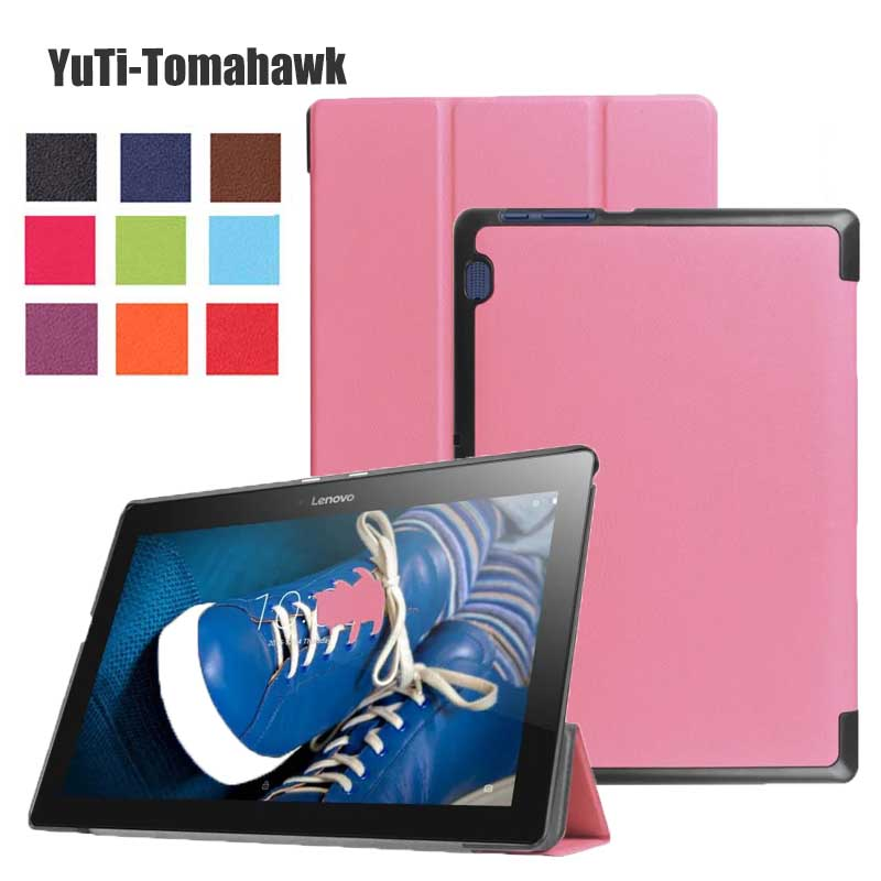 Case Smart-Cover Lenovo for Tab-2/A10-30x30f/Tab2 Slim Magnetic Pen A10-70F