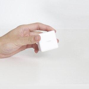 Image 3 - 2020 Aqara المكعب السحري تحكم المنزل الذكي زيجبي النسخة 6 إجراءات عملية ل جهاز منزلي ذكي مع تطبيق Mijia المنزل