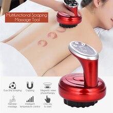 Raspagem elétrica massager raspador terapia onda de pressão corpo relaxamento meridiano estimular acupoints vácuo coping guasha ferramenta