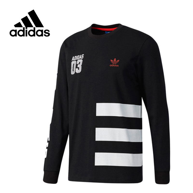 Original New Arrival Official Adidas Men's Pullover Jerseys Leisure Sportswear original adidas men s knitted pullover ab4373 ab4374 jerseys sportswear free shipping