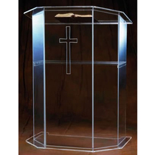 Church Pulpit Lectern Podium Perspex Acrylic Manufacturer-Supplies Simple