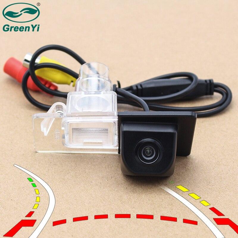 Intelligent Dynamic Trajectory Tracks Parking Reverse Backup Camera Rearview Camera For Hyundai Elantra 2011 2012 Kia Ceed 0