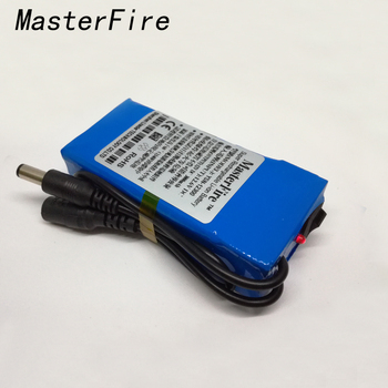 masterfire 4pcs lot super m 3 12v 1800mah rechargeable li ion battery lithium ion batteries pack for cctv camera led lights MasterFire New Portable Super 12V 3000mAh Rechargeable Lithium-ion Battery Li-ion Batteries Pack For CCTV Camera YSN-12300