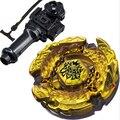 Лучший Подарок На День Рождения Продажи Аид/Ад Kerbecs Металл Мастеров 4D Beyblade дева BB-99 Игрушки Для Запуска led кнут brinquedo мигает