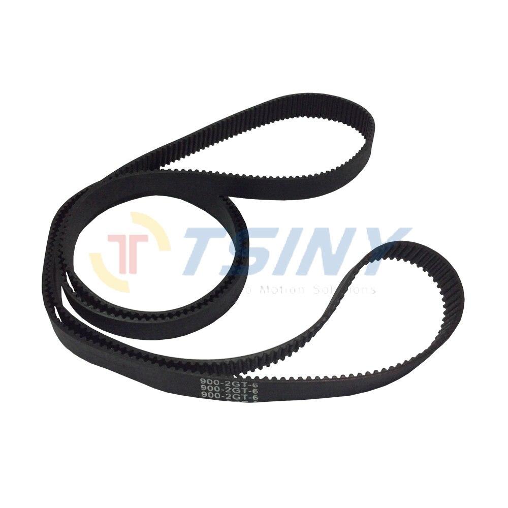 цены HTD GT2 Closed Loop Timing Belt Rubber 2GT Belt Width 9mm Length 900 Teeth 450 for 3D Printer Part CNC