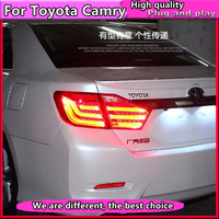 Car Styling for Toyota Camry Taillights 2012 2013 2014 Camry V50 LED Tail Light Aurion Rear Lamp DRL+Brake+Park+Signal