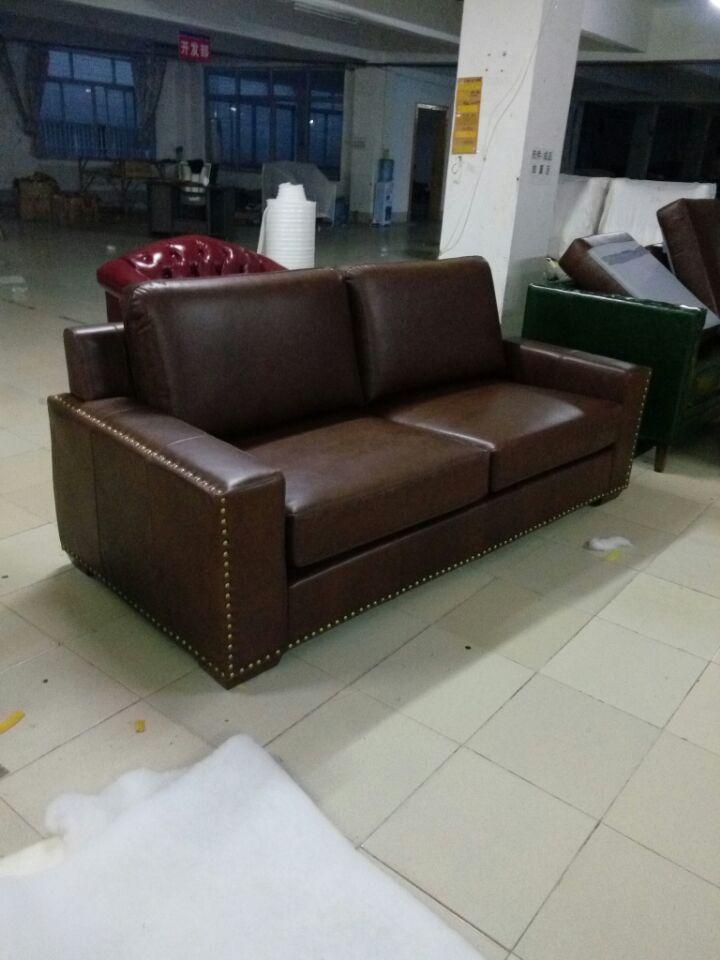Top dinilai sapi nyata kulit asli ruang tamu sofa furniture sofa 3 seater sofa sectional