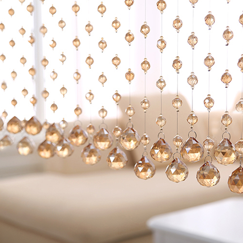 Decorative String Curtain Beads Wall Panel Fringe Curtains