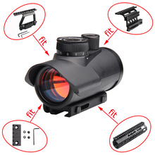 Tactical Red Dot Sight Scope Holographic 1 x 30mm Sight Scope with 11mm & 20mm Weaver Rail Mount for Tactical Hunting 5-0040