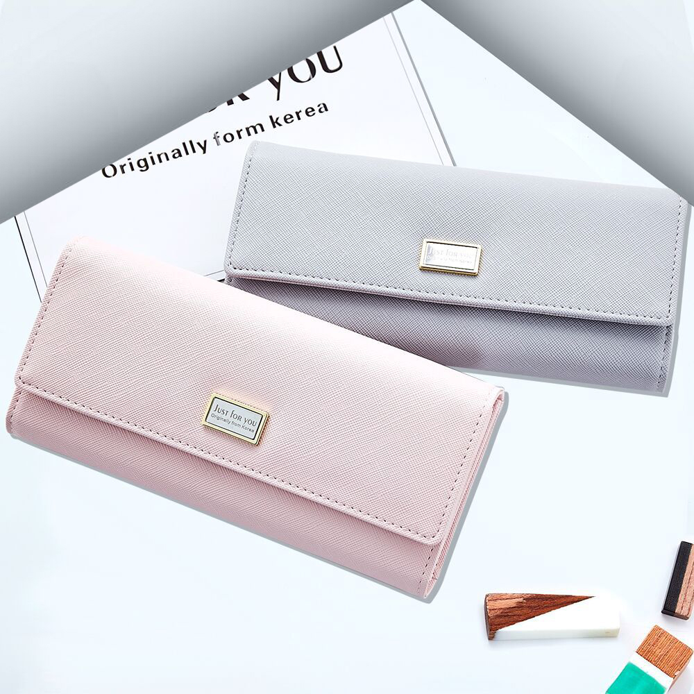 NEW Card Holders Coin Purse Japanese & Korean Style Women Handbags Fashion PU Leather Wallets Office Ladies Long Clutch(JY709-1) 2017 hottest women short design gradient color coin purse cute ladies wallet bags pu leather handbags card holder clutch purse