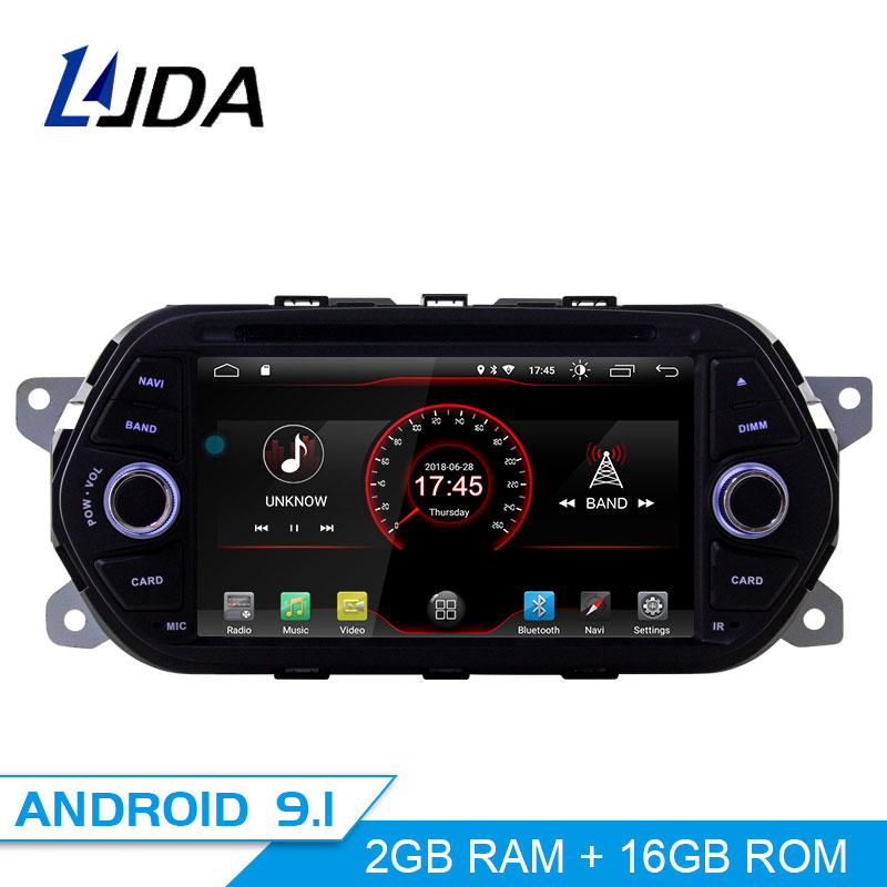 LJDA Android 9 1 font b Car b font DVD Player For Fiat Tipo Egea 2015