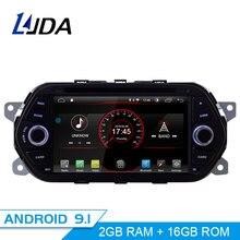 LJDA Android 9.1 Lettore DVD Dell'automobile Per Fiat Tipo Egea 2015 2016 2017 WIFI Car Multimedia Stereo GPS 1 Din auto Radio Quad Core RDS