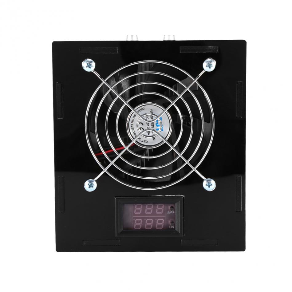 Ventilateur de refroidissement d'aquarium 1/2/3/4 ventilateurs réservoir de poisson refroidisseur de vent froid 12 V contrôle de température pour réservoir de poisson sel/eau douce