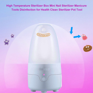 Image 2 - ICARE Portable Menstrual Cup Sterilizer, Ultraviolet Disinfection UV Light Physical Antibacterial Cleaner for Beauty Use