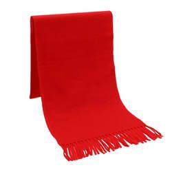 145/165/180 см Флисовый Шарф Для женщин женские зимние теплые мягкие платки желтый красного цвета кисточкой длинные шарфы и Обёрточная бумага