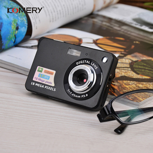 Image 3 - אמיתי Komery מקורי k9 מצלמה 3.5 inch LCD 1800 w פיקסל 4X דיגיטלי זום זמן לשגות צילום מצלמות וידאו שלוש  שנה אחריות