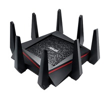 Best WiFi Gaming Router ASUS RT-AC5300 AC5300 (Original Package) Tri-Band 5330Mbps MU-MIMO AiMesh for mesh wifi system pocket wifi 603hw 4 x 4 mimo wifi router