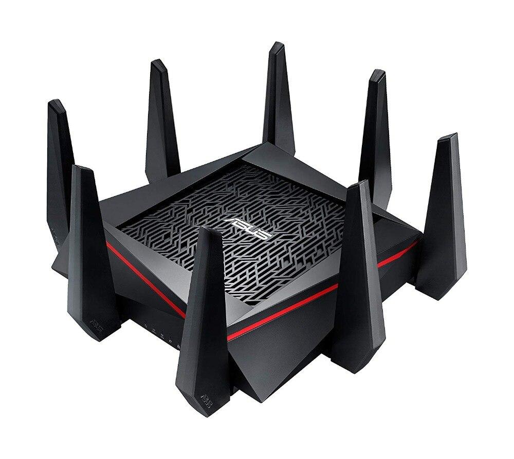 Meilleur routeur de jeu WiFi ASUS RT-AC5300 (paquet Simple) AC5300 Tri-bande, jusqu'à 5330 Mbps, MU-MIMO AiMesh pour système wifi mesh