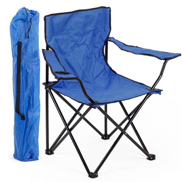 US $74.0 50% OFF|Large armchair Portable folding chairs fishing stool  camping Beach chairs-in Beach Chairs from Furniture on AliExpress