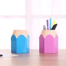 2019 new creative pencil holder Makeup brush holder stationery desk neat container office supplies storage pen case
