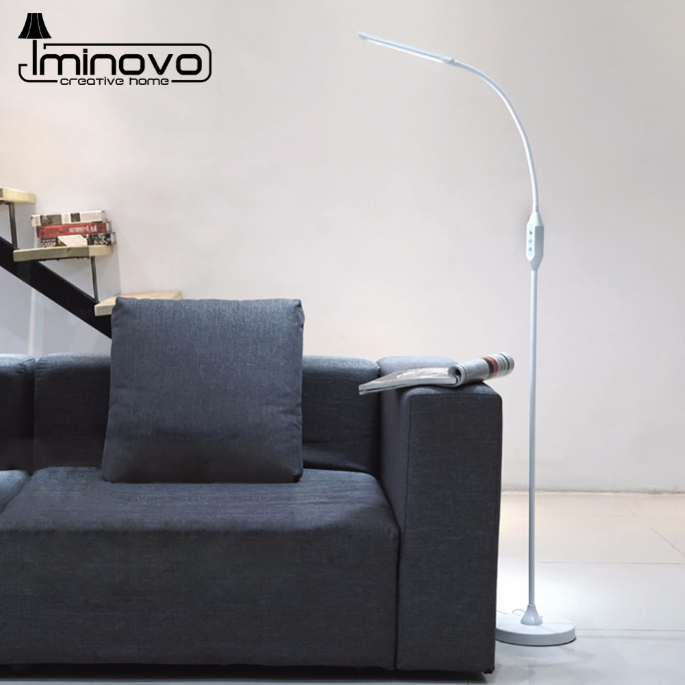 IMINOVO Novelty Floor Lamp Adjustable Neck Stand Lamp Living Room ...