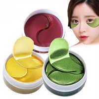 60 stücke EFERO Kollagen Augen Maske für das Gesicht Anti Falten Gel Schlaf Gold Maske Eye Patches Unter Dem Auge taschen Augenringe Auge Pads