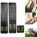 T2N2 Reflexology Walk Stone Foot Leg Massager Mat Health Care Acupressure(All) Eliminate Toxin Pain Relief Strengthens Immunity